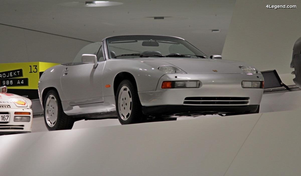 Porsche 928 S4 Cabriolet H21 Concept de 1987/1988 - Un beau projet non commercialisé