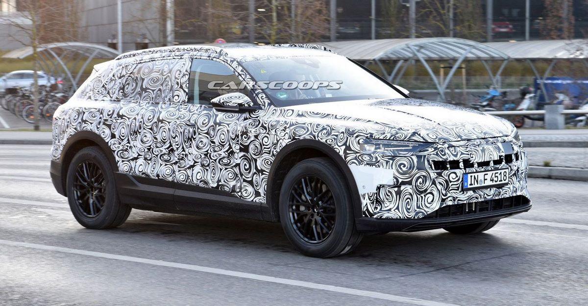 Spyshots Audi e-tron quattro 2018 - En cours de tests tout en silence