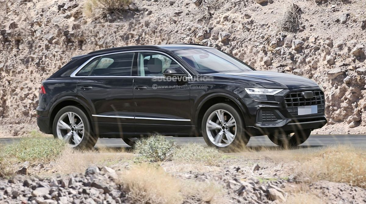 Spyshots Audi Q8 - Il se dévoile enfin à l'intérieur et à l'extérieur