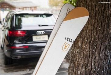 Le skieur Candide Thovex et Audi quattro joignent de nouveau leurs forces pour une collaboration vidéo hors norme
