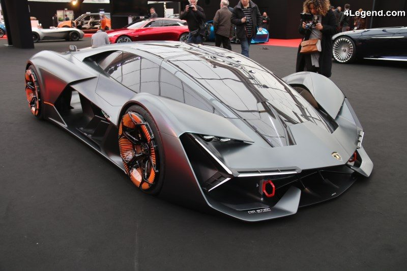 Lamborghini Terzo Millennio 224 L Exposition Des Concept