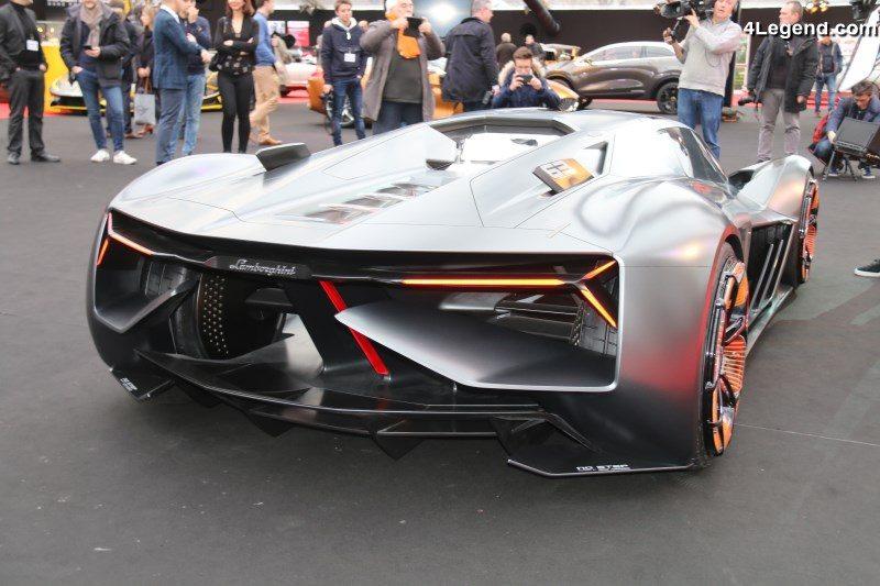 Lamborghini Terzo Millennio A L Exposition Des Concept Cars 2018 A