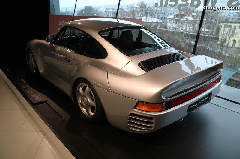 70 ans de sportives à Rétromobile 2018 — Porsche