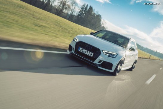 ABT RS3 – 500 ch pour l'Audi RS 3 Sportback et berline