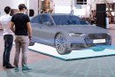 La réalité mixte au Forum Audi Ingolstadt – Une exposition virtuelle montrant la technologie de la nouvelle Audi A8