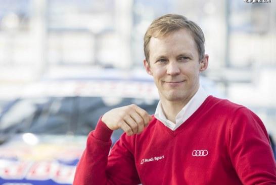 Le pilote Audi Mattias Ekström met fin à sa carrière DTM