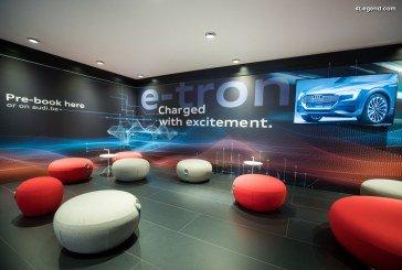 Plus de 200 pré-réservations pour l'Audi e-tron en Belgique