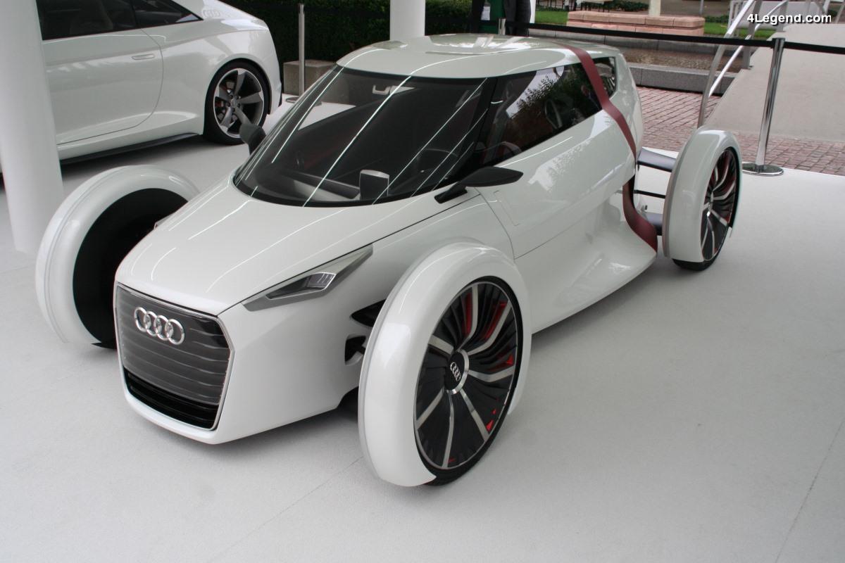 Audi urban concept de 2011 - Un concept car urbain inédit prévu pour la série