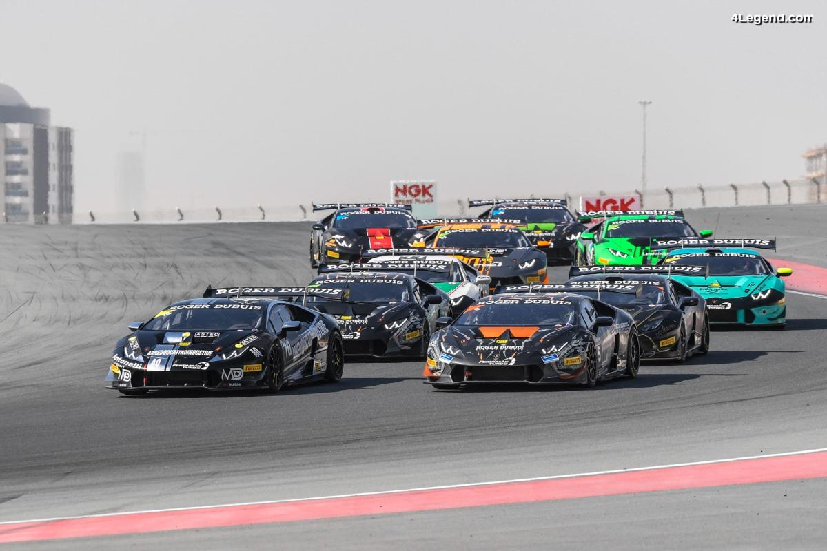 Lamborghini Super Trofeo Middle East - Bartholomew et Pull gagnent également la course 2 à Dubaï