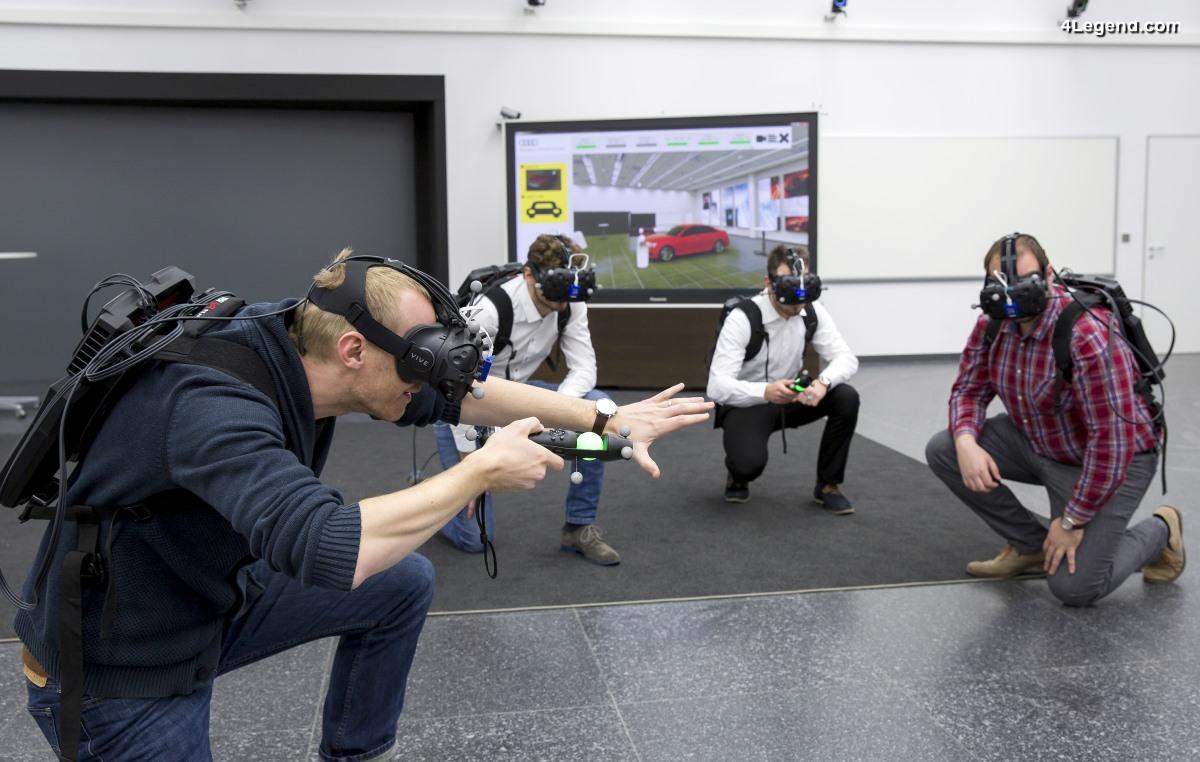 Audi teste la plateforme de réalité virtuelle holodeck pour un développement produit plus rapide