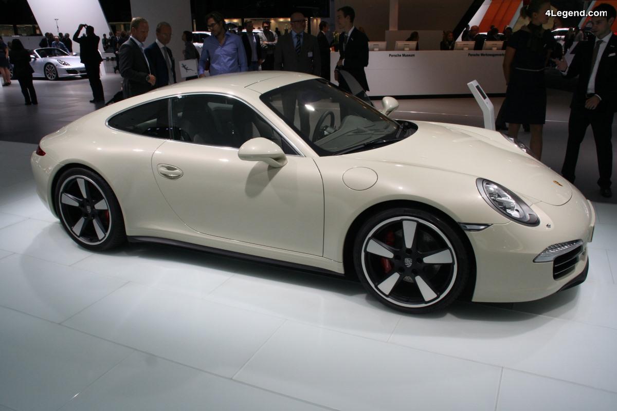 Porsche 911 50th Anniversary Edition de 2013 - Une édition limitée exclusive pour les 50 ans de la 911