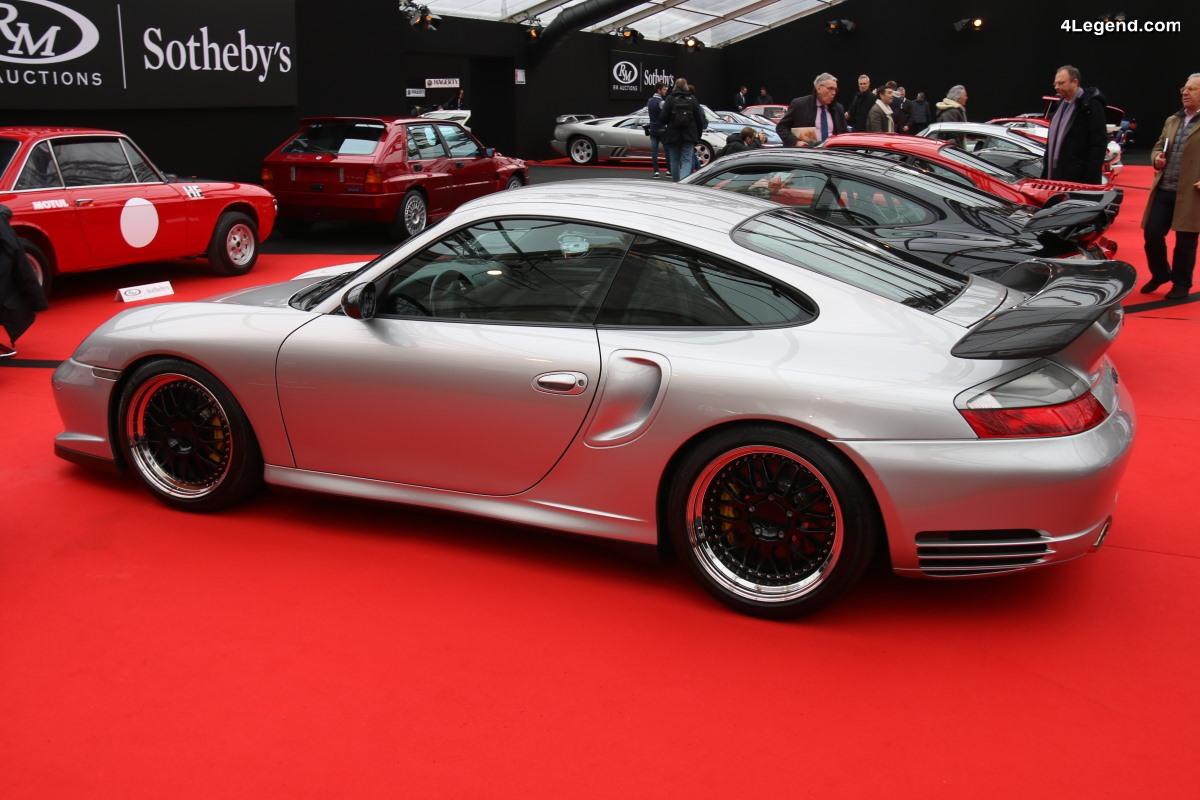 Porsche 911 GT2 Type 996 de 2002 - Préparée par Sportec à 580 ch
