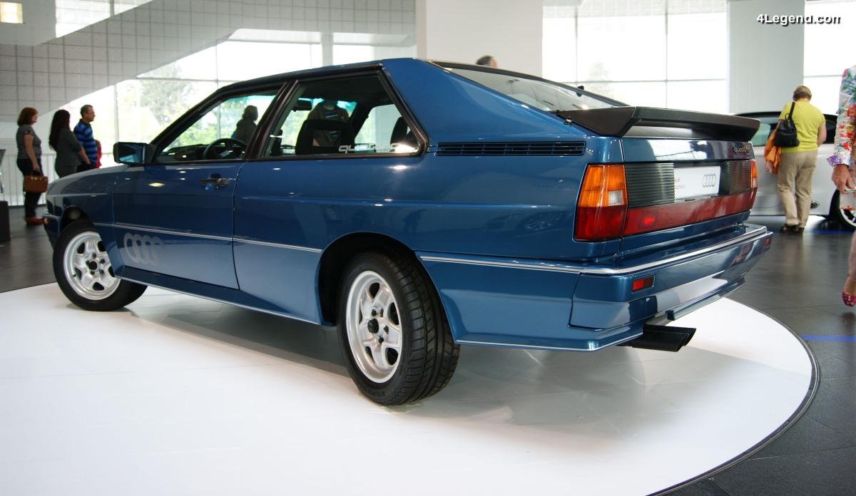 Audi quattro Allradlenkung de 1984 - Un prototype unique d'Audi Ur-quattro à 4 roues directrices