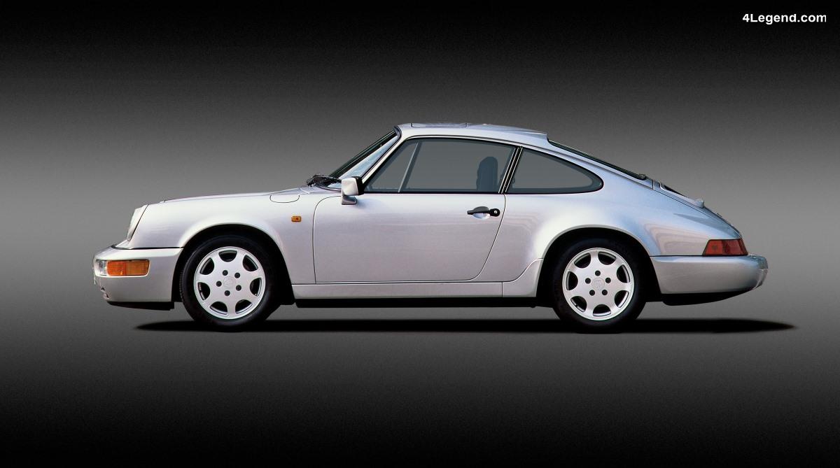 1988 - 2018 - Les moments-clés de 30 ans de développement de la transmission intégrale Porsche sur la 911