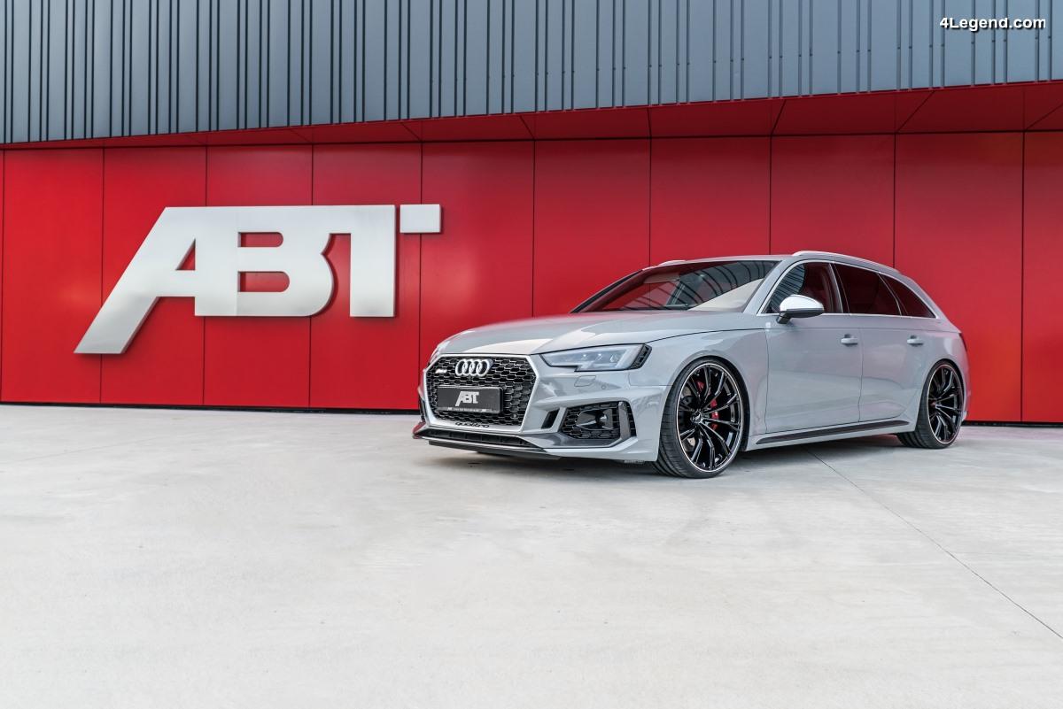 ABT RS4 - 510 ch et 680 Nm pour la nouvelle Audi RS 4 Avant