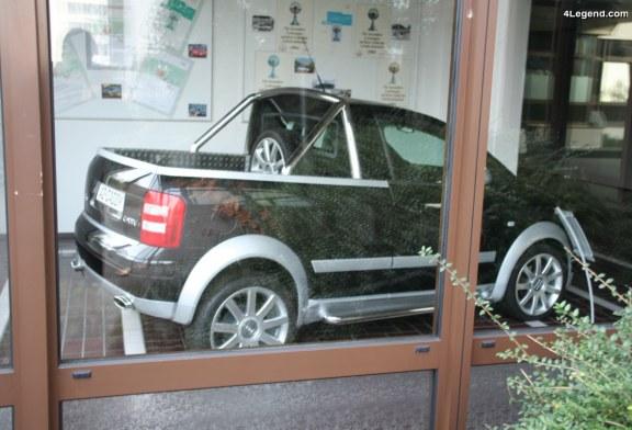 Audi A2 Caddy de 2004 – Un pick-up sur la base d'une Audi A2