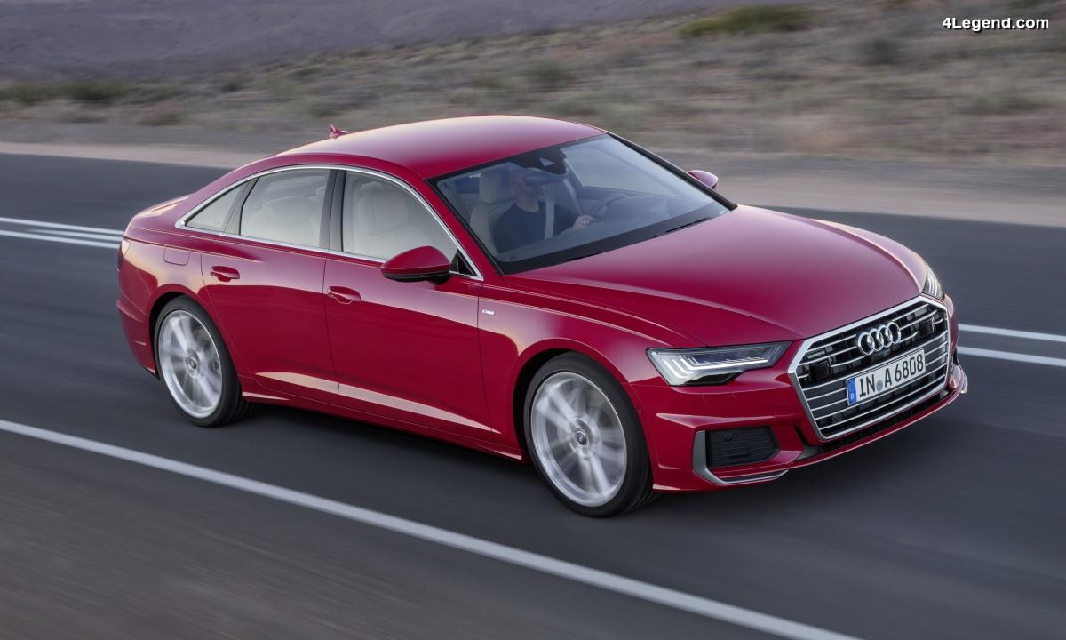 Nouvelle Audi A6 Berline : surclassement en classe affaires