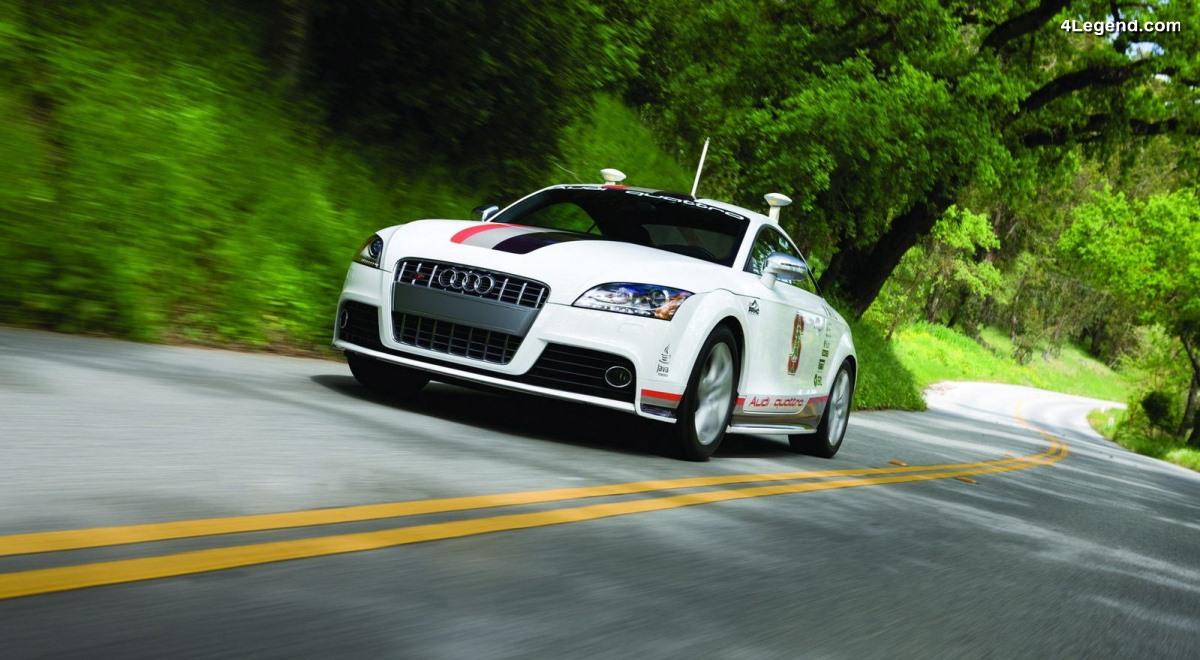 Audi TTS Pikes Peak de 2009 - Le premier concept de voiture autonome d'Audi
