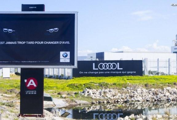 Un joli coup de pub d'Audi en Tunisie face à BMW