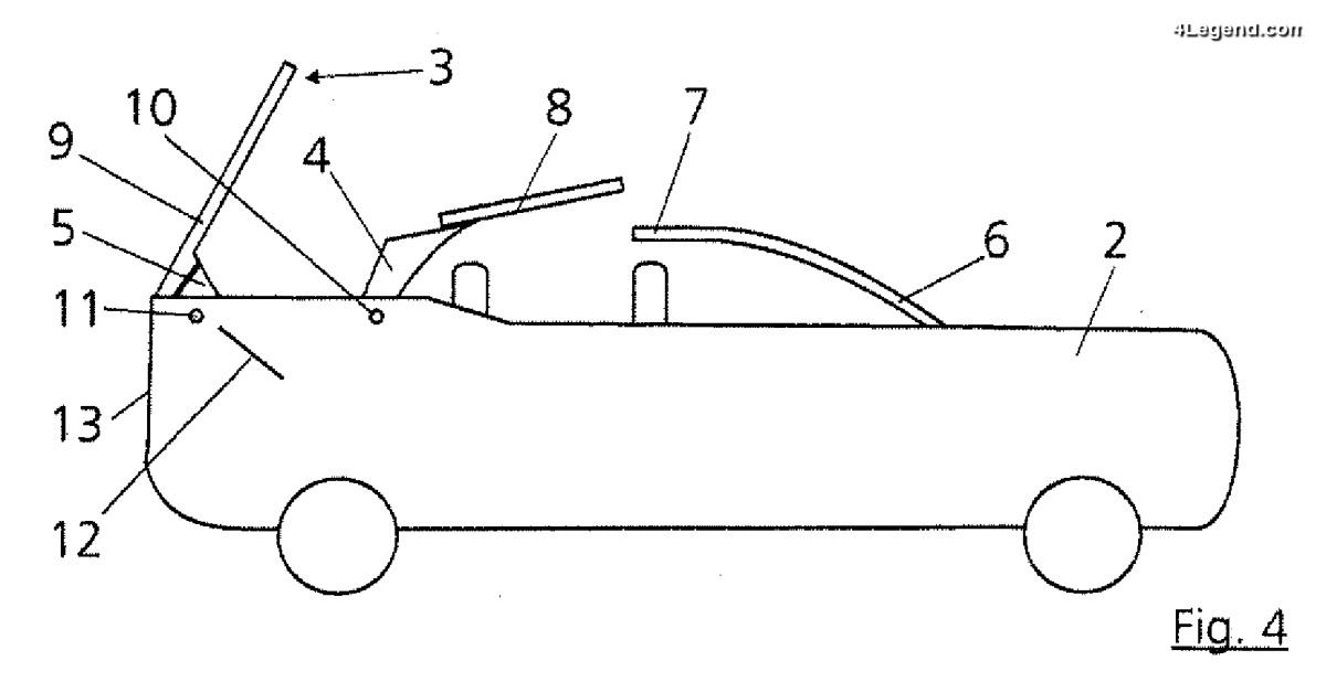 Audi a déposé des brevets de mécanisme de toit pour un éventuel gros SUV cabriolet