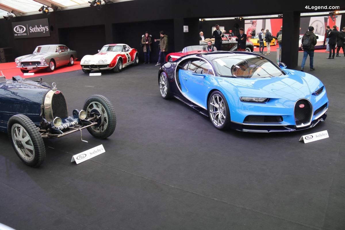 Bugatti Chiron de 2017 - L'une des 20 premières à être produite