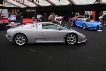 Bugatti EB110 Super Sport Prototype de 1993 – Un prototype avec des modifications spéciales