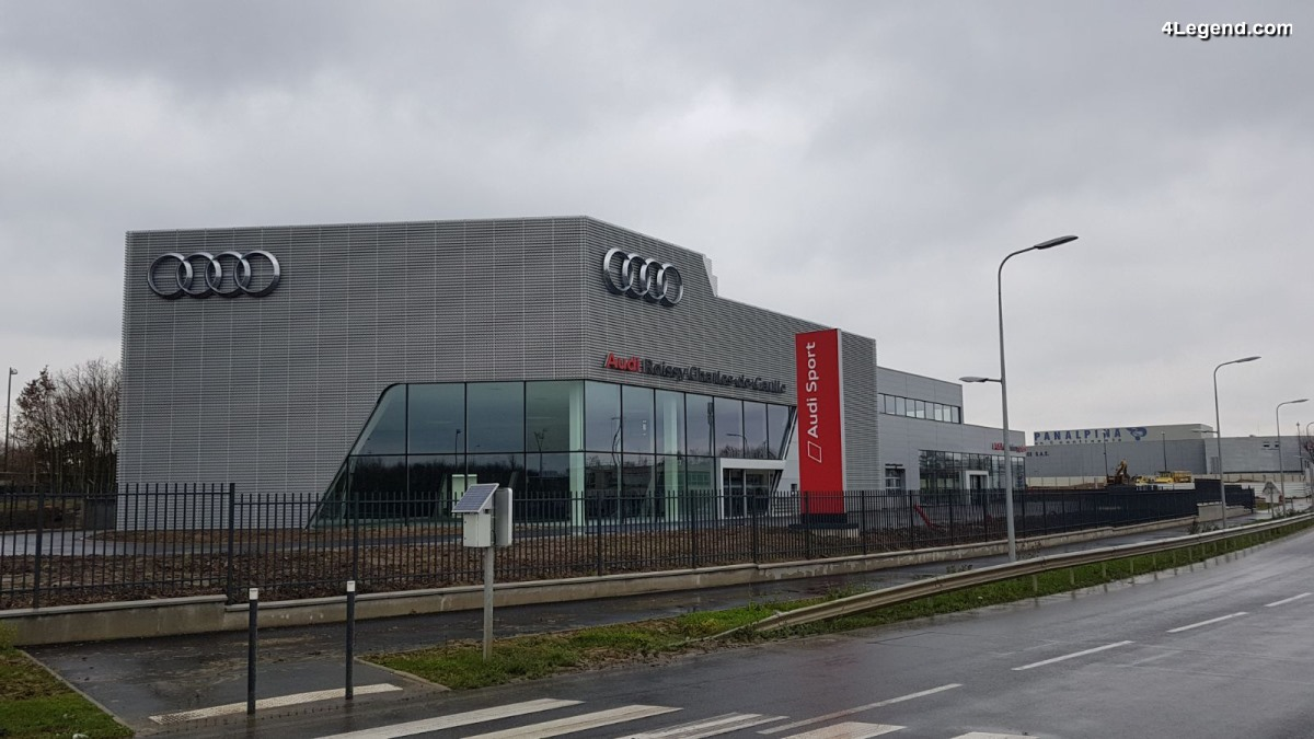 big concession audi roissy aeroport paris charles de