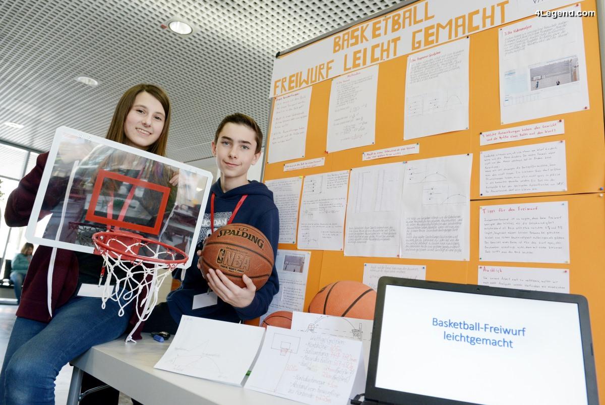 De jeunes inventeurs présentent leurs idées chez Audi