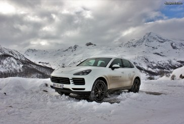 Porsche essais hiver 2017-2018: Porsche Cayenne S