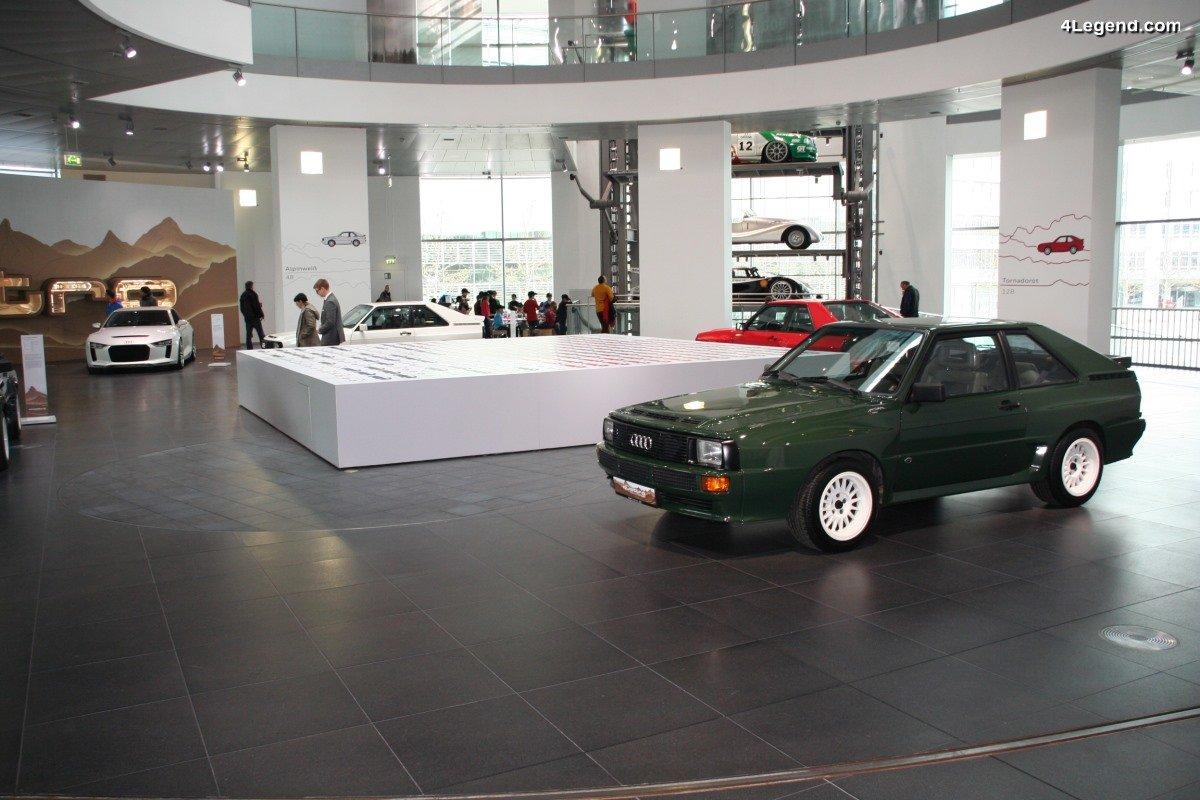 Exposition 30 ans de l'Audi Sport quattro - Home of quattro à Ingolstadt