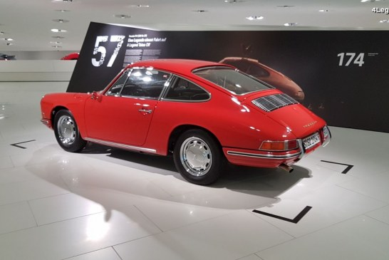 Porsche 911 (901) n°57 – Visite de son exposition temporaire au Porsche Museum