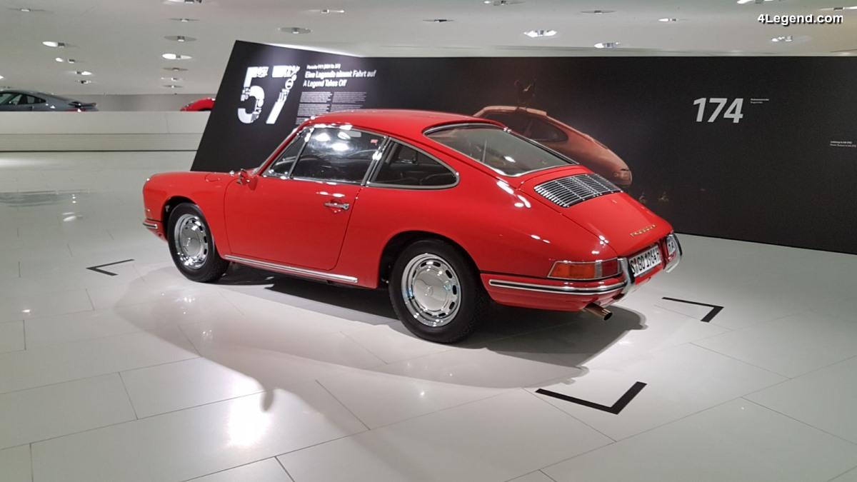 Porsche 911 (901) n°57 - Visite de son exposition temporaire au Porsche Museum