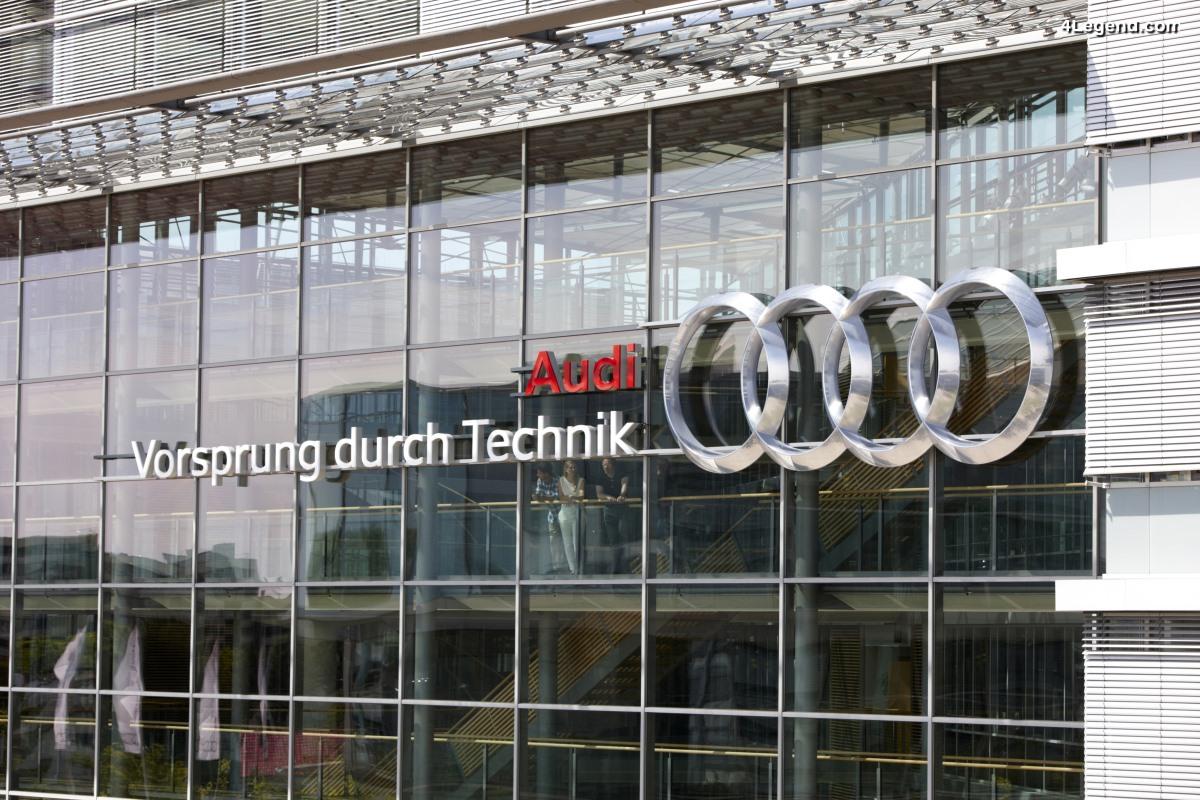 Histoire Audi - Vorsprung durch Technik : Savez-vous...