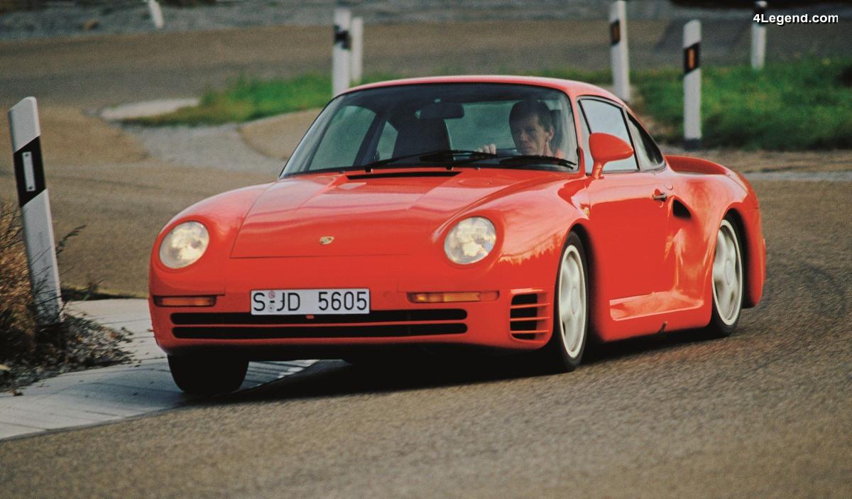 Histoire de la transmission intégrale chez Porsche