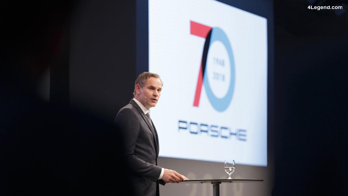 Interview d'Oliver Blume - PDG de Porsche - sur la mutation due la marque
