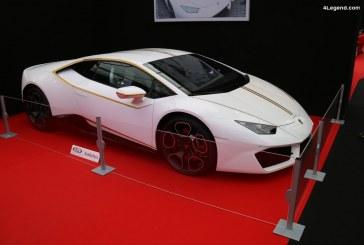 Lamborghini Huracán RWB personnalisée et signée par le Pape François