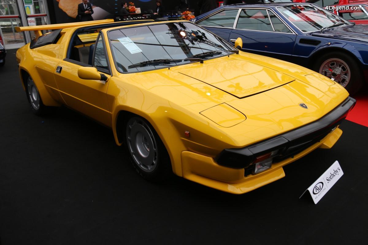 Lamborghini Jalpa de 1985 - La dernière Lamborghini V8 produite à 420 exemplaires