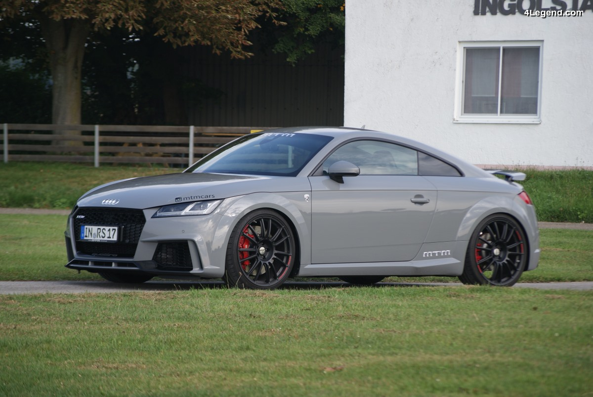MTM TT RS Stage 2 - 552 ch et 650 Nm pour l'Audi TT RS : Un vrai missile routier