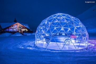 Le plus grand magasin éphémère Porsche au cœur des Alpes françaises