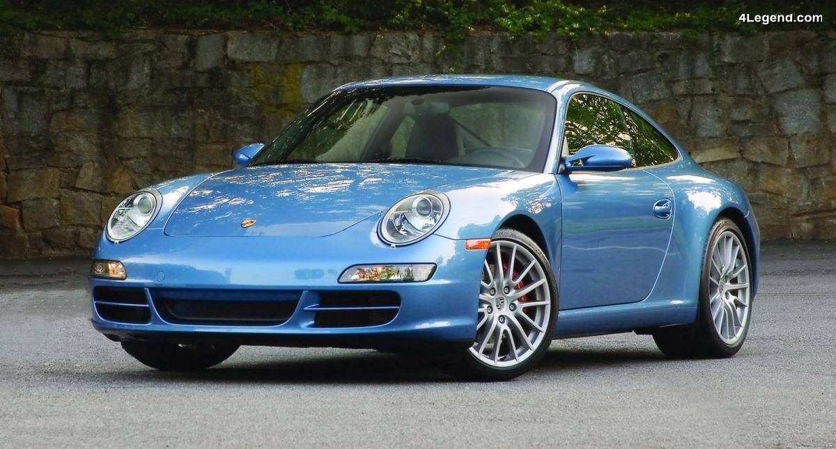 Porsche 911 Club Coupe de 2005 avec kit moteur X51 - 50 exemplaires pour les 50 ans du PCA