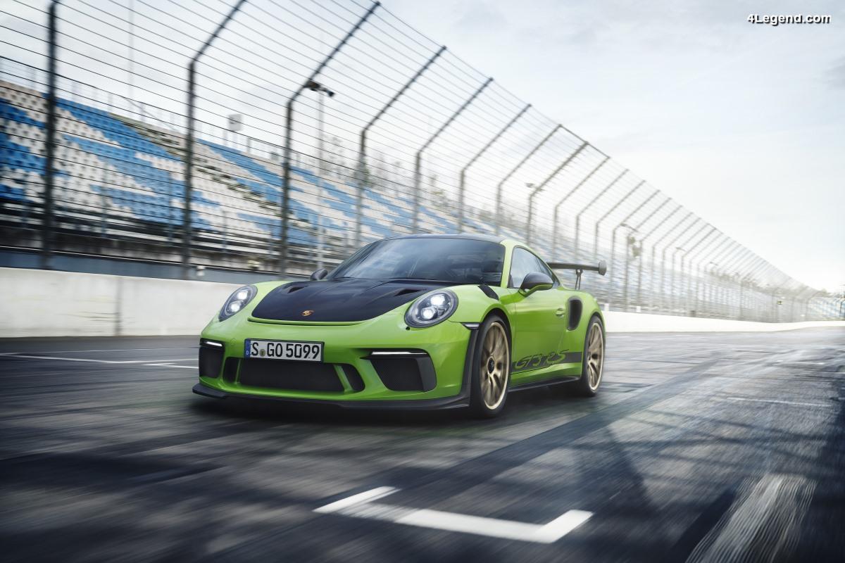Nouvelle Porsche 911 GT3 RS - Au plus près de la course