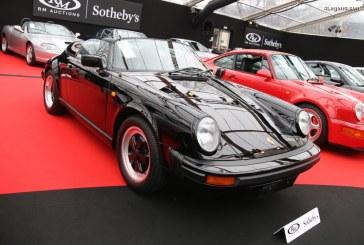 Porsche 911 Speedster de 1989 – L'un des rares 171 exemplaires non Turbo-Look