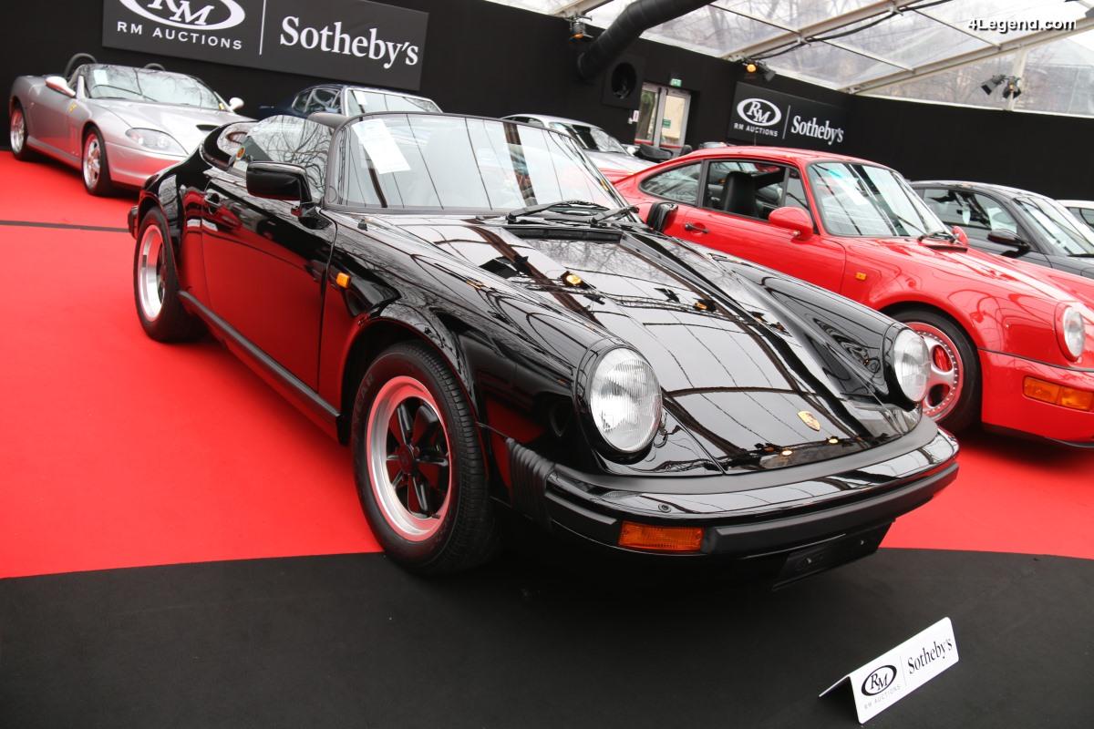 Porsche 911 Speedster de 1989 - L'un des rares 171 exemplaires non Turbo-Look