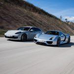 Porsche e-performance – Porsche 918 Spyder vs Porsche Panamera Turbo S E-Hybrid Sport Turismo à Portimão