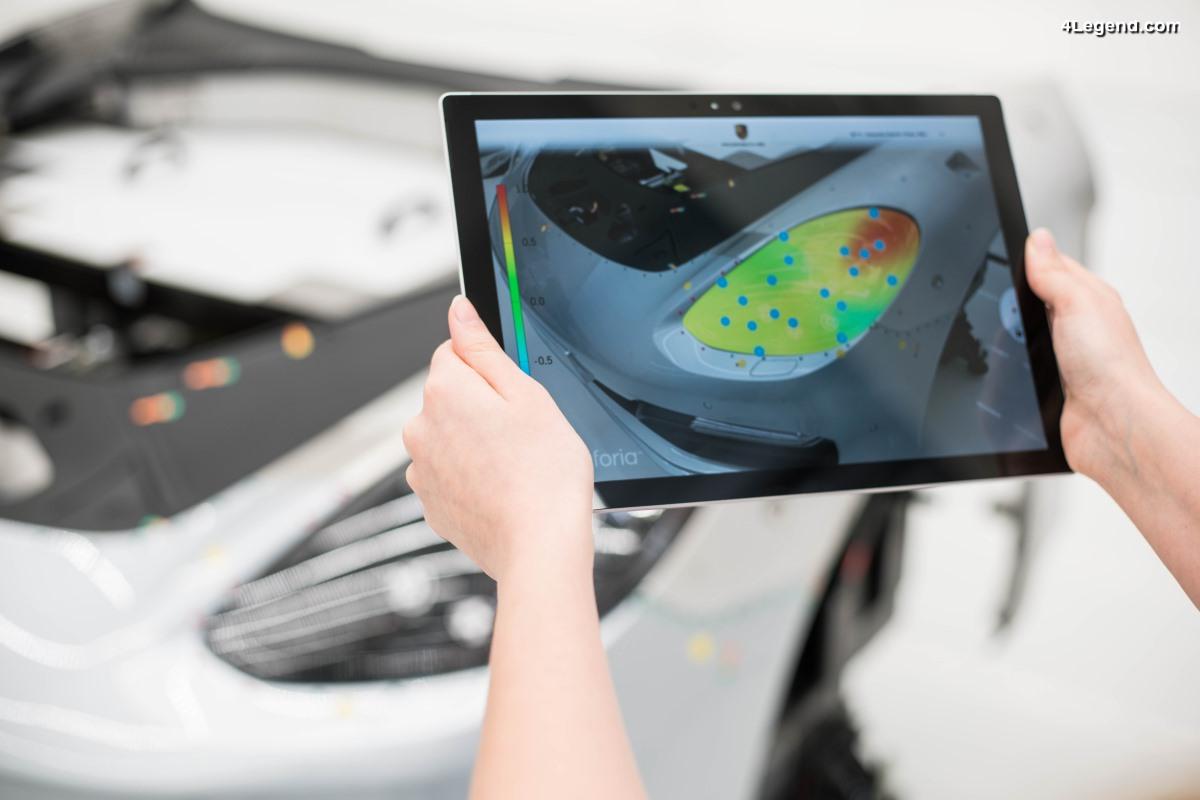 Porsche établit de nouveaux critères de qualité avec son Inno-Space