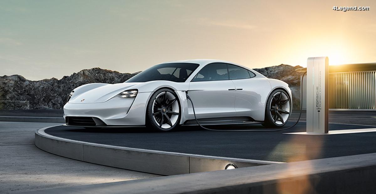 Porsche prévoit d'investir plus de six milliards d'euros dans l'électromobilité d'ici 2022