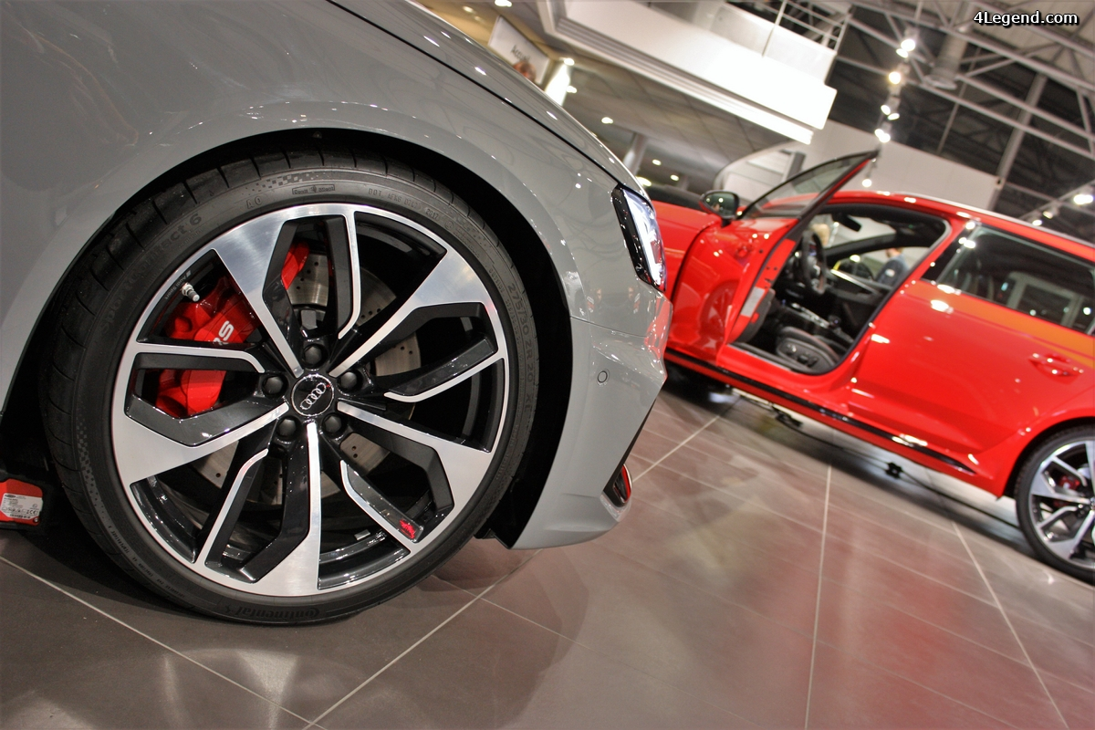 Soirée de présentation de la nouvelle Audi RS 4