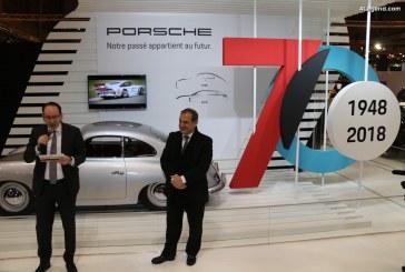 Rétromobile 2018 – Porsche fête ses 70 ans en mettant en avant son Patrimoine