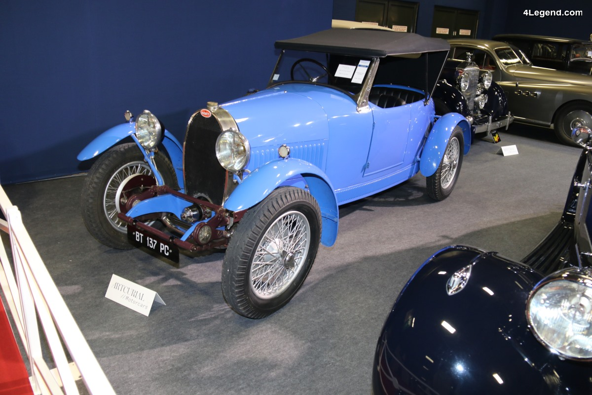 Rétromobile 2018 - Bugatti Type 40 Grand Sport de 1926