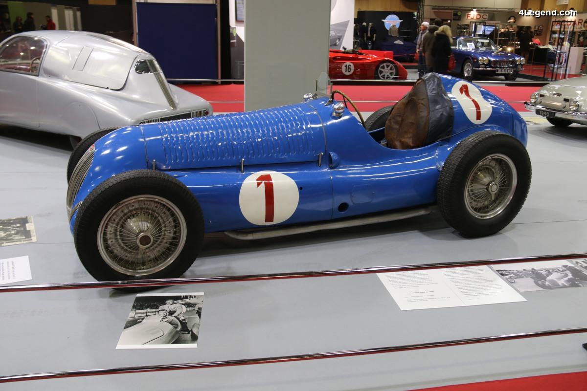 Rétromobile 2018 - Bugatti Type 59/50 B de 1939 - La dernière Bugatti de course